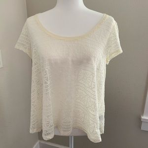 American Eagle Outfitters lace top M